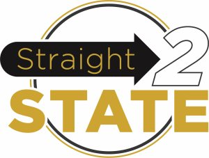 Straight 2 STATE logo
