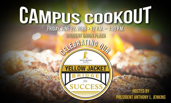 Campus Cookout Set for Friday, June 22