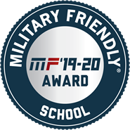 Military Friendly Schools Badge 2019-2020