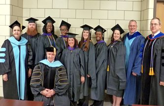 First graduate cohort students 2013