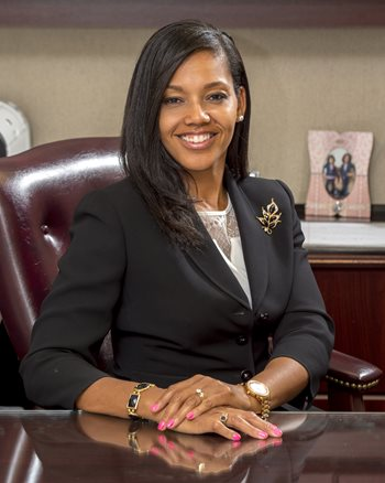 WVSU First Lady Toinette Jenkins