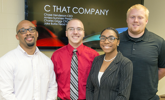 WVSU Students Place in the Top 40 of International Business Competition