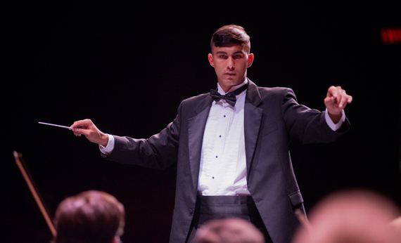 West Virginia State University Student Wins International Music Conductors Competition