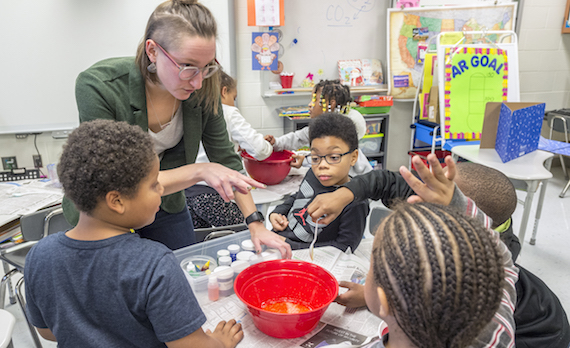 W.Va. State University 4-H Program Moves Full STEAM Ahead at West Side Elementary School