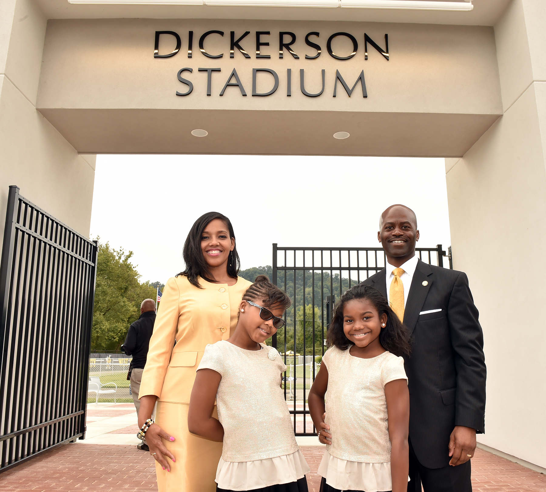 Dedication of Dickerson Stadium