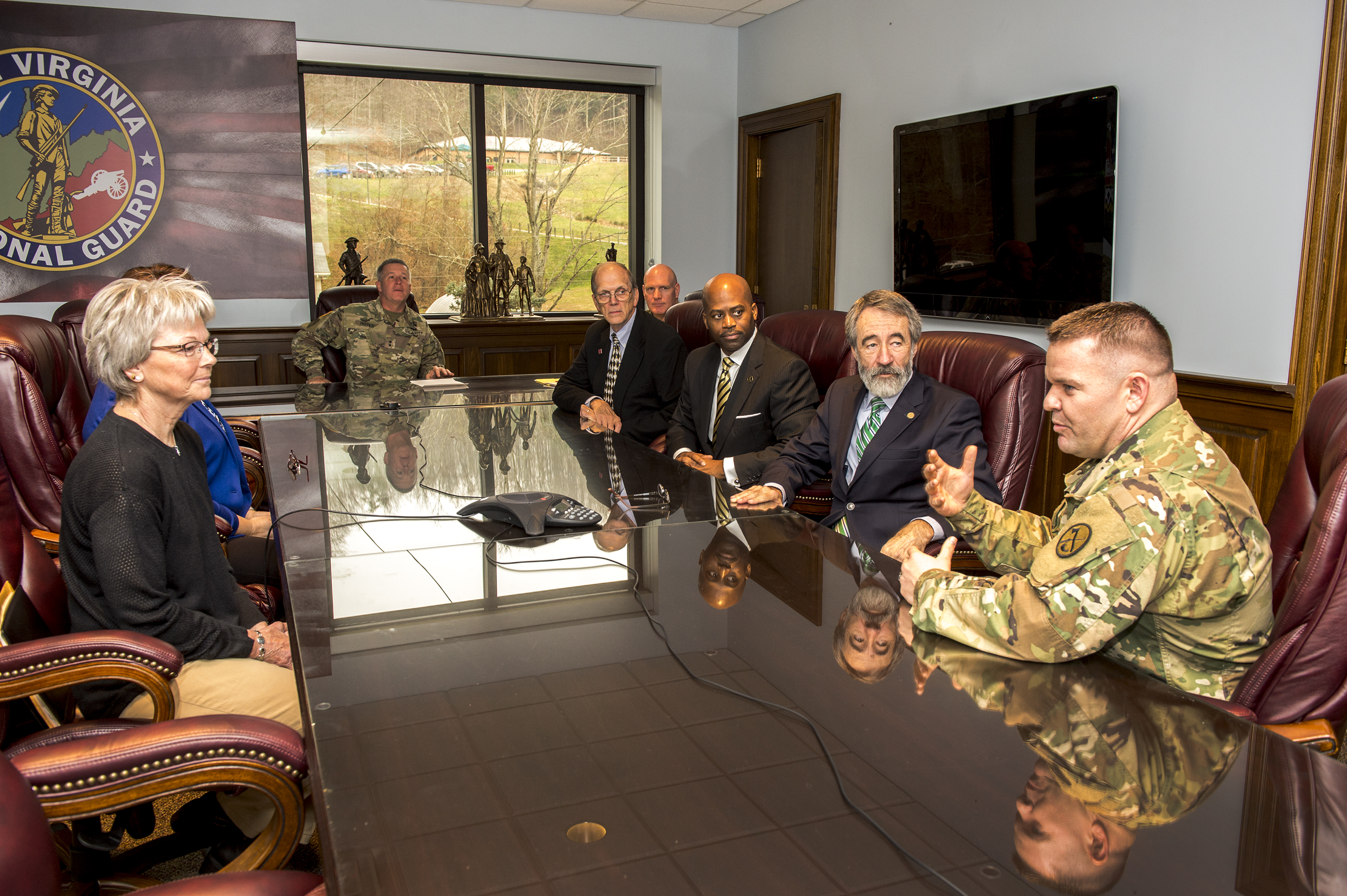 President Jenkins Signs MOU with WV National Guard