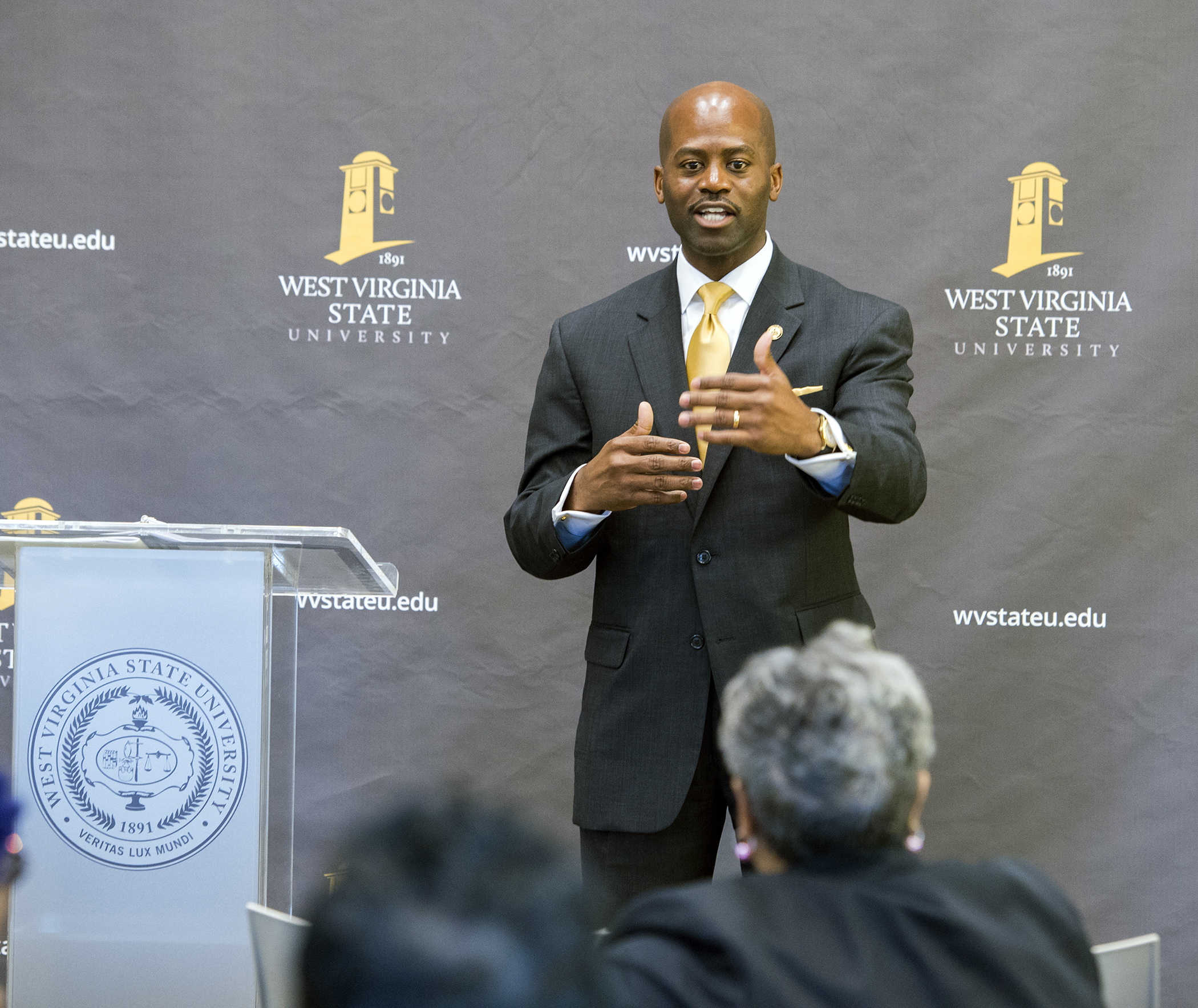 President Jenkins speaks about the University