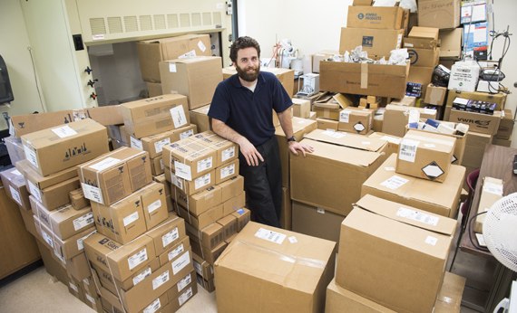 WVSU Chemistry Professor Leads Effort to Replace Science Equipment Lost in June Floods