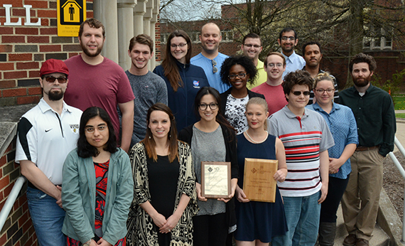 West Virginia State University Hosts Regional American Chemical Society Awards Banquet
