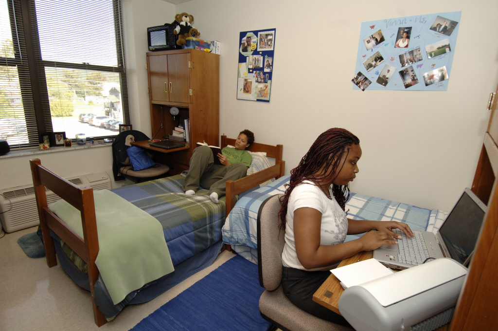 West Virginia State University Dorm Rooms