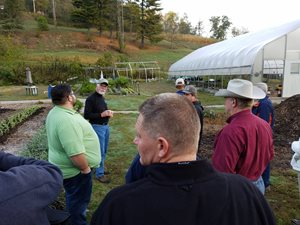 Farmers and Ag Service Professionals at WV Farm