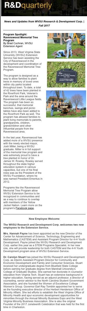 West Virginia State University - WVSU Research & Development