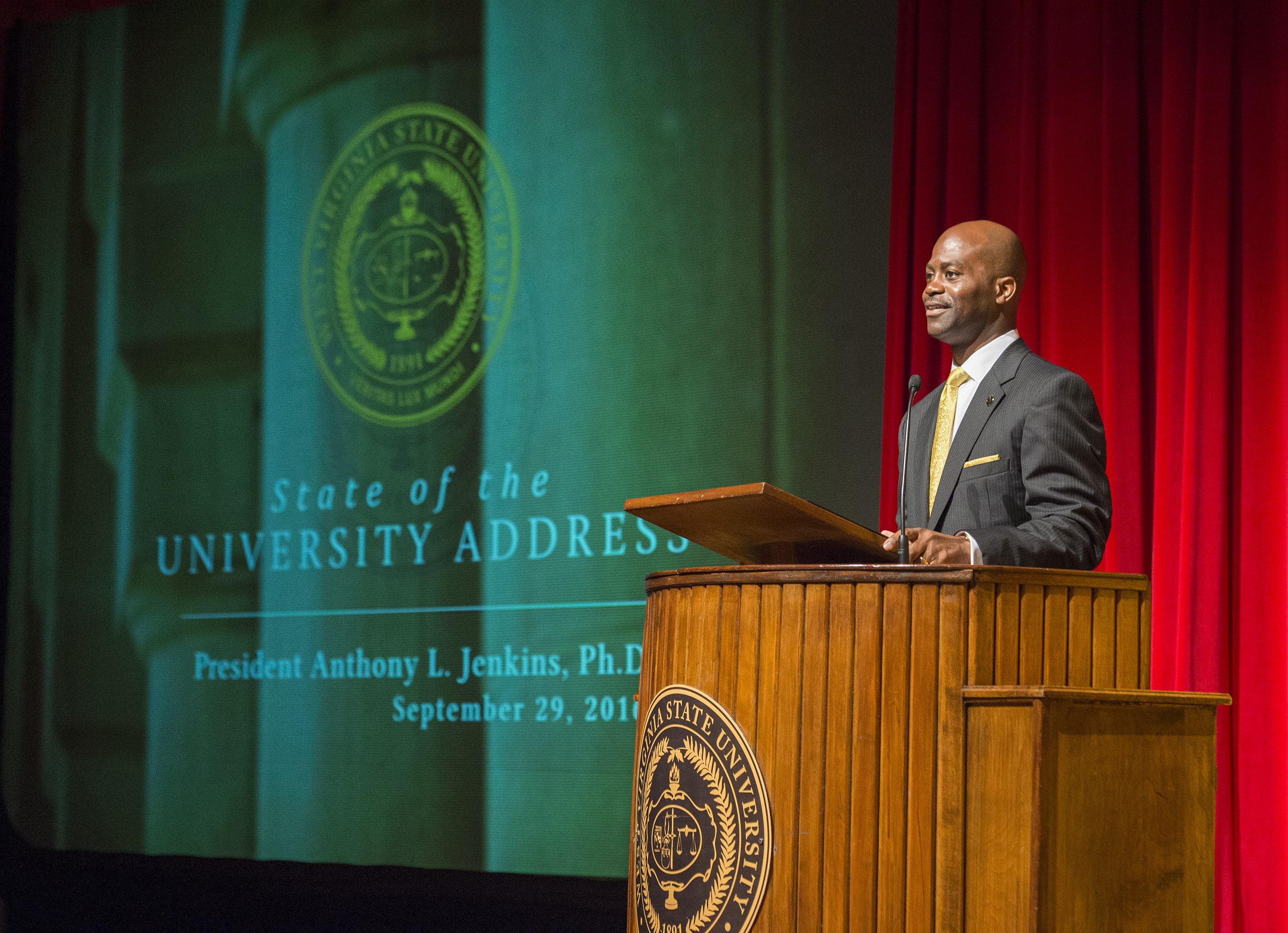 President Jenkins 2016 State of the University Address