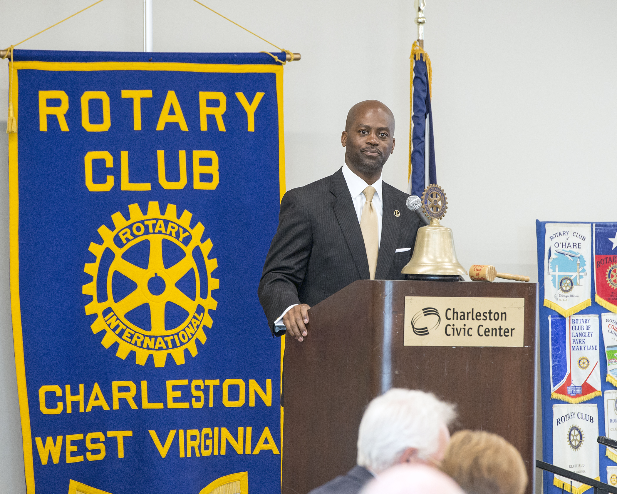 President Jenkins Speaks to Charleston Rotary Club