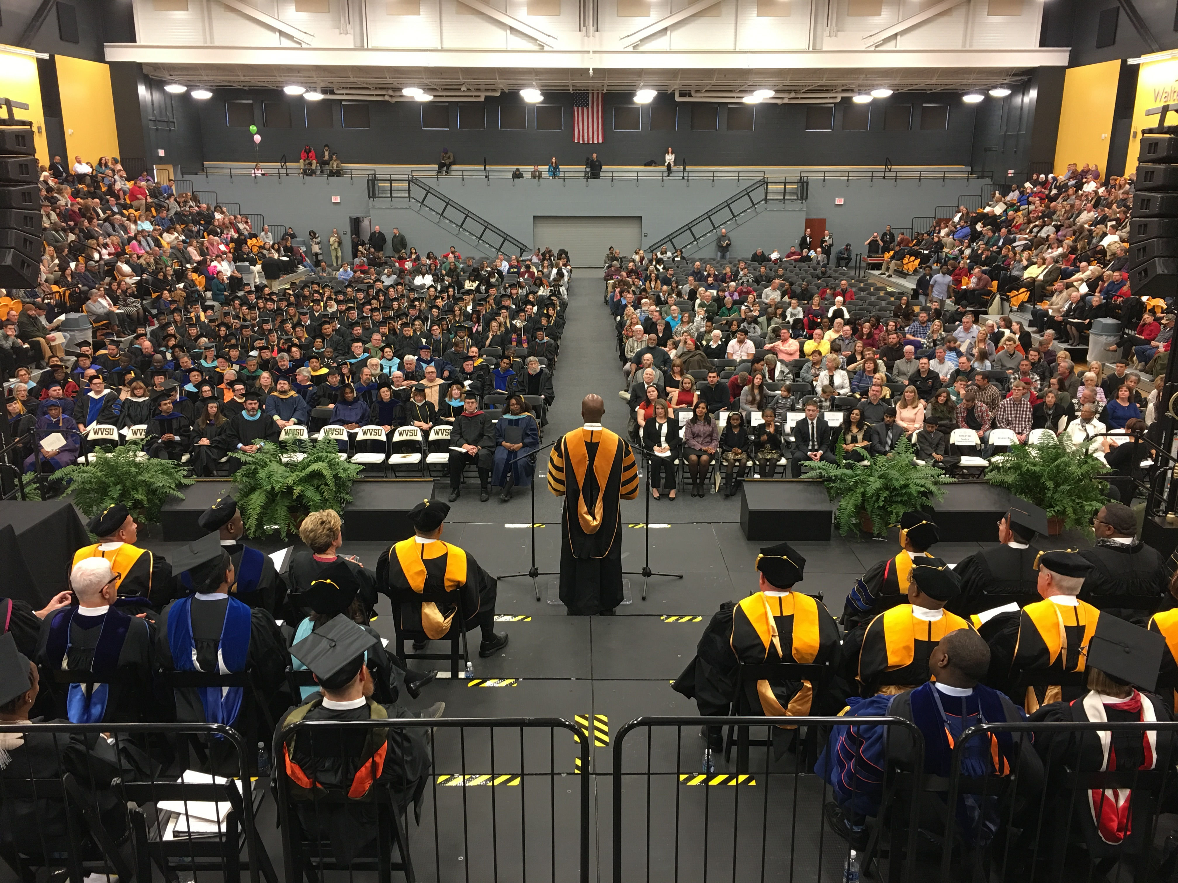 President Anthony L. Jenkins Addresses New WVSU Graduates