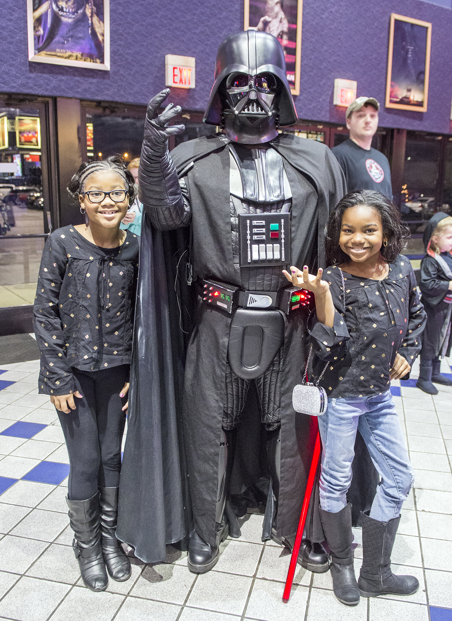 The First Daughters meet Darth Vader