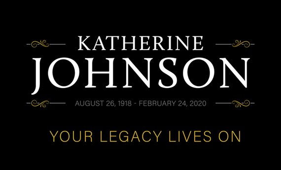 Presidential Medal of Freedom Recipient, West Virginia State University Alumna Katherine Johnson Passes Away at 101