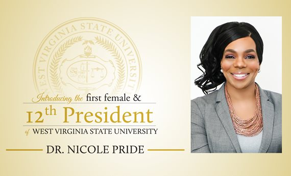 Dr. Nicole Pride Named West Virginia State University President