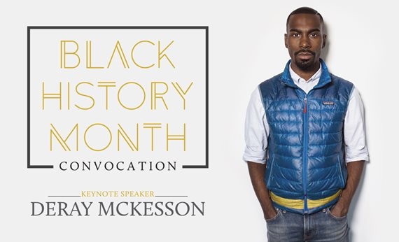 Civil Rights Activist DeRay Mckesson to speak at West Virginia State University Black History Month Convocation Feb. 25